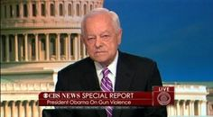 """Bob """"Kneepads"""" Schieffer Likens Obama 'Taking on the Gun Lobby' to 'Hunt for Bin Laden', 'Defeating the Nazis'. What a pathetic little eunuch! NewsBusters http://shar.es/4RyV6"""