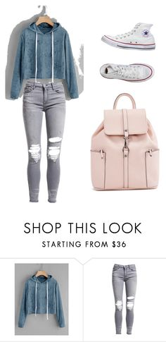 """Back to school #15"" by gchmuller on Polyvore featuring AMIRI and Converse"