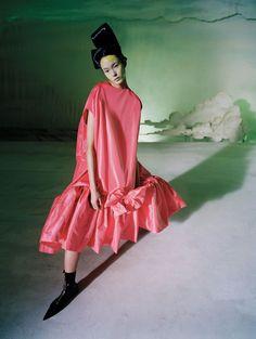 """saloandseverine: """" Vogue China December 2014 Fei Fei Sun by Tim Walker """""""