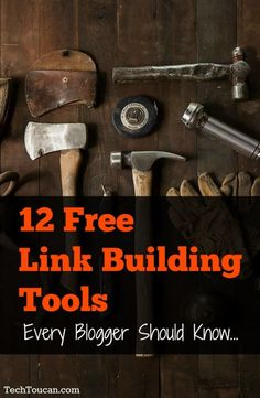 Want free link building tools? If you're serious about SEO and blogging you'll want to bookmark these tools.
