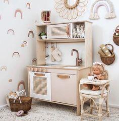 Ikea Kids Playroom, Ikea Kids Kitchen, Toddler Playroom, Toddler Rooms, Playroom Decor, Kids Decor, Playroom Design, Home Decor, Ikea Girls Room