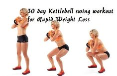 Here is a 30 day Kettlebell swing workout challenge for rapid weight loss. This kettlebell workout challenge will help you lose weight and tone your body. Kettlebell Deadlift, Kettlebell Training, Kettlebell Swings, Kettlebell Circuit, Kettlebell Benefits, Thigh Toning Exercises, Toning Workouts, Easy Workouts, Fat Workout