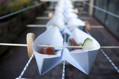 Origami + Food