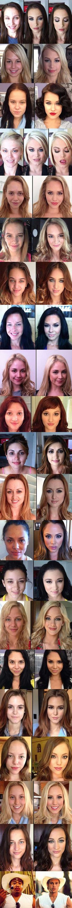 behold the power of makeup