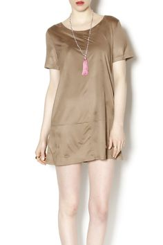 Beautiful faux suede shift dress. Faux Suede Dress by Bishop + Young. Clothing - Dresses - Casual Clothing - Dresses - Mini Indiana
