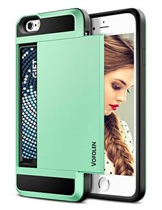 iPhone 6 Case, Vofolen® Impact Resistant Protective Shell iPhone 6 Wallet Cover Shockproof Rubber Bumper Case Anti-scratches Hard Cover Skin with Card Slot Holder for iPhone 6 4.7 inch (Mint Green) Vofolen http://www.amazon.com/dp/B00X5ELYMQ/ref=cm_sw_r_pi_dp_BSqkwb1GVZEYT