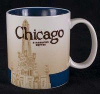 Starbucks Chicago 16oz Coffee Mug 2011