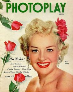 Betty Grable for PhotoPlay