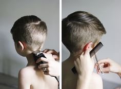 How To: Modern Haircut for Boys @The Merrythought