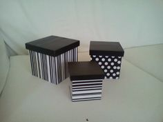 cajas decorativas, decopage o pintadas