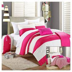Comforter Set Chic Home Design Twin Pink
