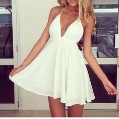 Steal The Fashion: White Summer Dress