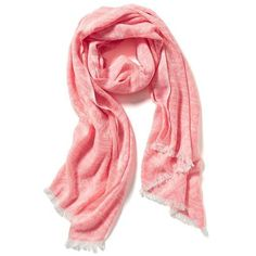 Old Navy Neon Jacquard Scarf ($13) ❤ liked on Polyvore featuring accessories, scarves, pink jacquard, woven scarves, pink scarves, old navy, neon scarves and pink shawl