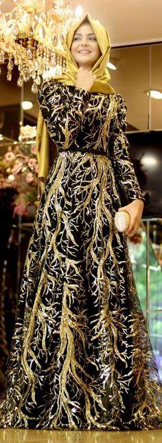 yellowish black abaya #minimal #abaya #hijabers #Hijabi #hijabfashion #hijabstyle #dress #muslimahfashion #Ramadan http://www.styleglow.com/latest-abaya-style-designs-in-pak…/