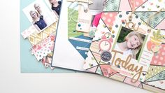 Smash Your Stash | Paper scrapbook class at Big Picture Classes taught by Aly Dosdall #scrapbookworkshop #scrapbooking