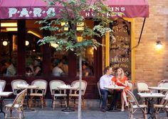 PARC - Rittenhouse Square  http://www.parc-restaurant.com/