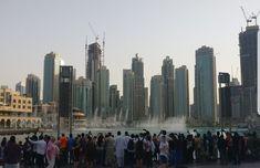 UAE known for luxury shopping, ultramodern and lively nightlife scene Dubai Mall, United Arab Emirates, Shopping Mall, Nightlife, Uae, New York Skyline, Scene, Luxury, World