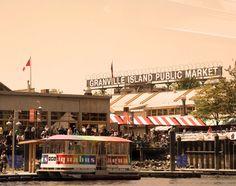 """""""Granville Island Public Market  Vancouver, BC"""" #explorebc"""