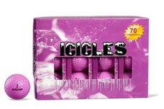 ICICLES Women's V Golf Ball, Lavender - http://golfforchampions.com/icicles-womens-v-golf-ball-lavender/