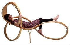 We could take a nap here. Design #garden #sun #lounger in certified #wood (FSC-certified) NO.4 Tom Raffield