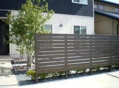 Blindfold fence woodgrain – Art & Craft World Landscape Design, Garden Design, House Design, Arch House, Garden Structures, Wood Grain, Fence, Blinds, House Plans