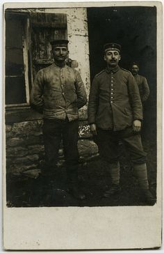 WWI German soldiers