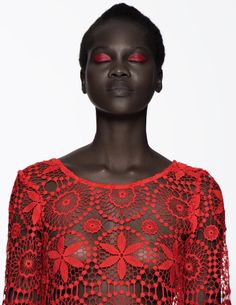 Atong Arjok for Refinery 29. Photography by Paul Jung, Styling by Sue Choi.