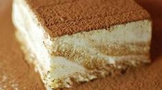 Tiramisu Ice Cream Cake...... A frozen take on the classic Italian dessert.