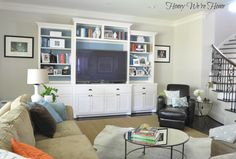 Honey We're Home: Our Living Room & Toy Organization