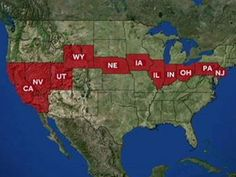 US Interstate Map Gots Ta Go Pinterest Road Trips And Buckets - Us map of interstate 80