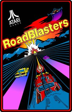 RoadBlasters Arcade Game