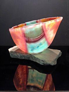 Beautiful vessel by Janet Wittenberg