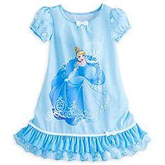 Disney Store Cinderella Little Girls' Blue Ruffles Nightshirt - deal storage Disney Pajamas, Boys Pajamas, Fleece Pajamas, Little Girl Fashion, Little Girl Dresses, Kids Fashion, Toddler Girl Outfits, Kids Outfits, Disney Girls
