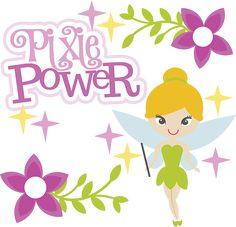 Pixie Power - SVG Scrapbooking Files