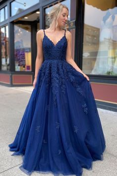 Dark blue lace tulle long prom dress dark blue bridesmaid dress can find Formal gowns and more on our website.Dark blue lace tulle long prom dress dark blue b. Blue Lace Prom Dress, Dark Blue Bridesmaid Dresses, Pretty Prom Dresses, Prom Dresses Blue, Women's Dresses, Dress Prom, Prom Dresses Long Modest, Dark Blue Dresses, Long Prom Gowns