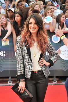 We've missed Shenae Grimes and her colorful ombre locks | 2014 MuchMusic Video Awards