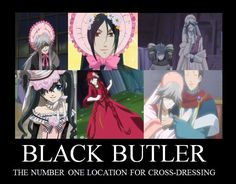 That Butler, Bonnet-wearing by Dootsyblue.deviantart.com on @deviantART (Well, maybe #2 after Ouran.)