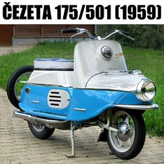 Vespa, Scooter Motorcycle, Citroen Ds, Chopper, Motorbikes, Classic, Vehicles, Motto, Old Motorcycles