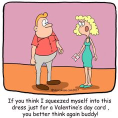 Holiday Cartoons – H. Rose Cartoons - Valentine's Day  - Visit the website for more funny cartoons and laughs!