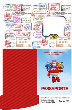Uau! Veja o que temos para Passaporte Super Wings