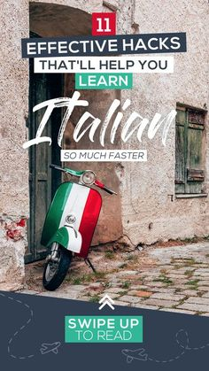 Want to learn Italian faster? Speak Italian like you�ve always wanted to with these 11 simple, effective, and fun language hacking tips. Best Language Learning Apps, Learning Languages Tips, German Language Learning, Language Activities, Learning Resources, Foreign Languages, Spanish Activities, Learn Italian Fast, Learn To Speak Italian