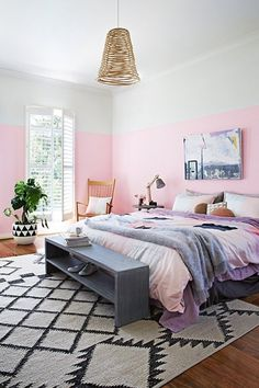 Half & Half: 10 Examples of the Easy Paint Job That Makes Every Room Look Good | Apartment Therapy