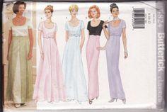 WOMEN'S PATTERN Butterick 4824 Easy Evening Dress by retrochick66, $7.50