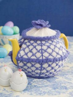 Sunday in Spring Tea Cozy Pattern