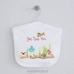 Little Diver baby bibs  pull over bibs pack of two under