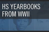 Have students analyze high school yearbooks from WWII.  Compare/contrast today vs. back then.