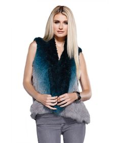 DOLCE CABO Natural Fur Vest. #dolcecabo #cloth #