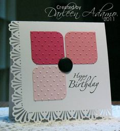 CC326~Quick n' Easy B-day by darleenstamps - Cards and Paper Crafts at Splitcoaststampers