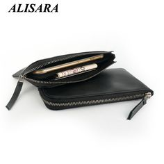 $24.66 (Buy here: https://alitems.com/g/1e8d114494ebda23ff8b16525dc3e8/?i=5&ulp=https%3A%2F%2Fwww.aliexpress.com%2Fitem%2Fzipper-wallet%2F32698856257.html ) Men wallet luxury brand genuine leather women wallets Phone purses male change purse lady Money Bag long handbags Coin Pocket for just $24.66