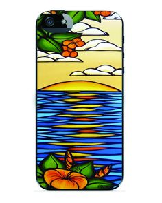 Heather Brown Collection: Hibiscus Sunset for iPhone 5 - iPhone 5 - apple - Shop by Device Trϋ Protection